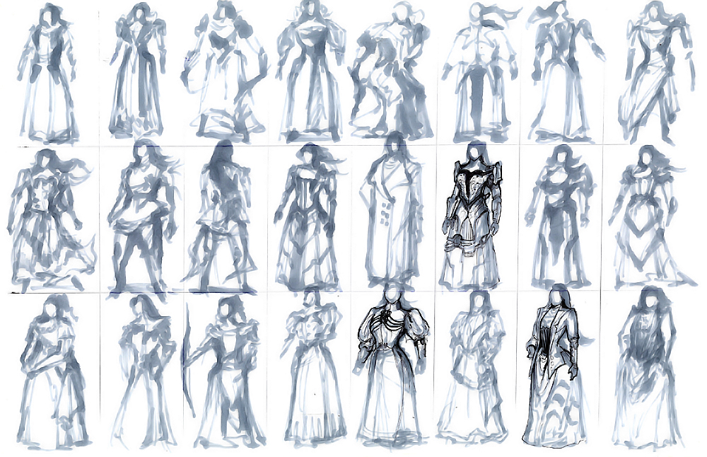 Character Design Process Drawing : Design process victorian steampunk thief tim guo
