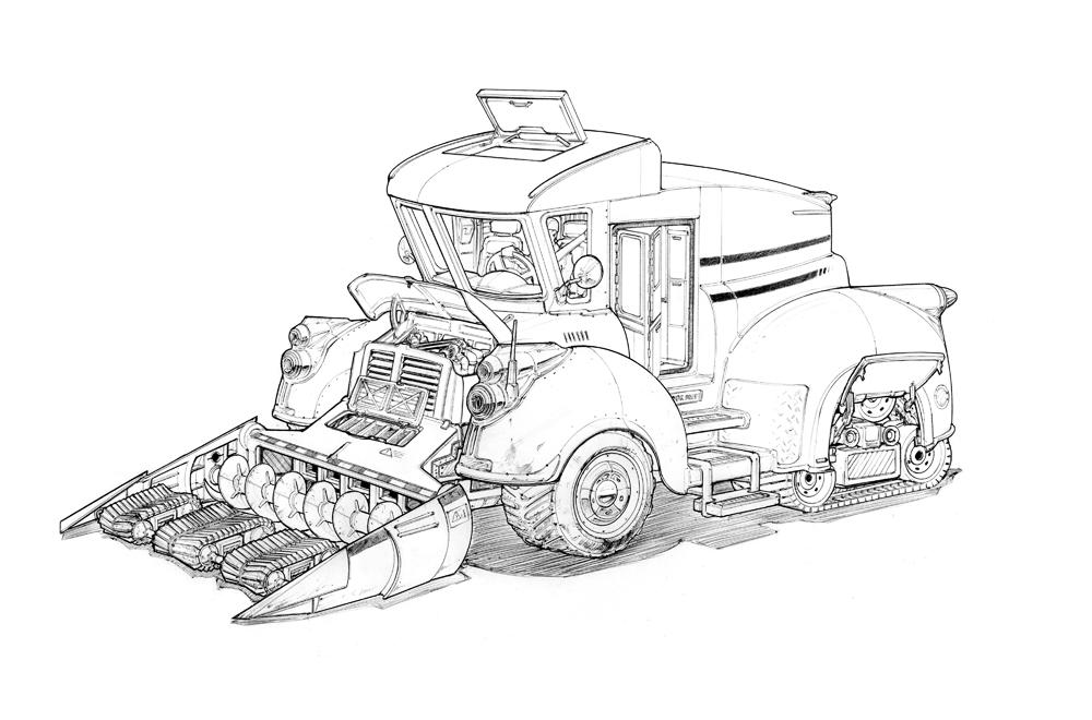 Viscom 1 Treaded Vehicle Tim Guo Design